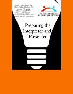 Read Tips to prepare for conference interpretaion service.