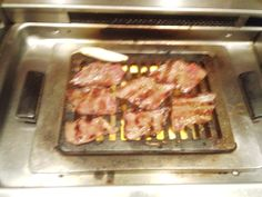horse meat grill