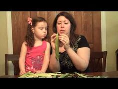How to Make a Corn Husk Doll, VIDEO