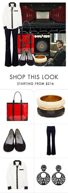 """Solyaris with Spencer Reid, 2 of 50"" by auds78 ❤ liked on Polyvore featuring Etiquette, Kate Spade, Repetto, Current/Elliott, Equipment, Luxury Fashion and MANGO"