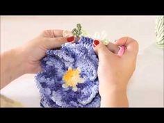Criações em crochê: Flor Rococó   Luciana Ponzo - YouTube                                                                                                                                                                                 Mais
