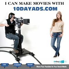 I can make movies with 10dayads.com #OnlineVideoAd #ClassifiedWebsites