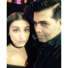 Say cheese! Selfie time Pareenti & Karan!...