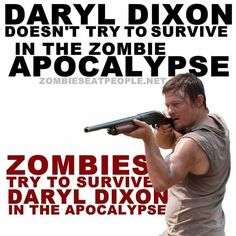 Daryl Dixon - Norman Reedus, The Walking Dead Walking Dead Funny, Walking Dead Zombies, Fear The Walking Dead, Daryl Dies, Twd Memes, Best Shows Ever, Just In Case, I Laughed, Laughter