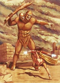 The Nephilim Giants Took Over Earth in Forms of Tribes, Ruling with Ferocity and Savagery, Yet They Were Extremely Cunning and Intelligent, Knowing Their Fallen Fathers' Secrets of The Works of The Unknown