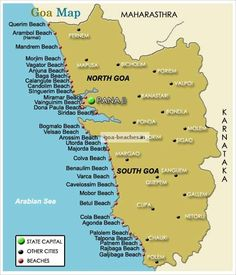 Get all the information about Goa Beaches