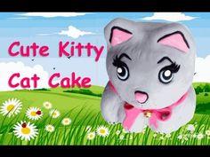 Cute Kitty Cat Cake!