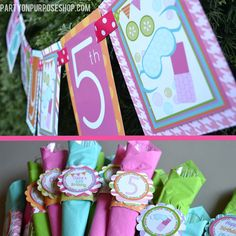 Spa Birthday Party Decorations Package - Day Spa