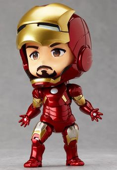 The hero who forges his own path! From the worldwide hit film 'The Avengers' comes a fully articulated Nendoroid of Iron Man - the hero that industrialist billionaire Tony Stark becomes whenever he puts on his powerful armored suit. Chibi Marvel, Marvel Art, Marvel Heroes, Marvel Avengers, Epic Heroes, Pop Marvel, Iron Man Wallpaper, Marvel Wallpaper, Iron Man Suit