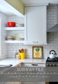 The Meantime You Want Retile Your Kitchen Now With Subway Beaches Tile Backsplash Countertop Installation Best Free Home Design Idea Inspiration