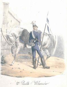Mundur 2 pułku ułanów Królestwo Kongresowe- zdjęcia, foto galerie, fotki, zdjęcie
