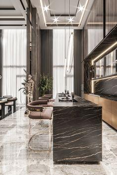 Home Design Decor, Home Room Design, Dream Home Design, Luxury Home Decor, Küchen Design, Modern House Design, Design Ideas, Luxury Kitchen Design, Kitchen Room Design