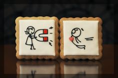 Valentine's day cookies #valentines #day #cookies
