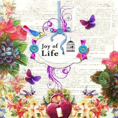 "New Photobook ! (22 pages) ""Joy of Life "" Full of light and colour !"