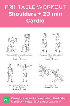 The Summer Sleeveless Arm Toner Workou - mein individuelles Workout erstellt bei Workout . Gym Workout Plan For Women, Gym Workout For Beginners, Fitness Workout For Women, Dumbbell Exercises For Women, Dumbbell Workout, Workout Schedule, Gym Workouts, Workout Days, Printable Workouts