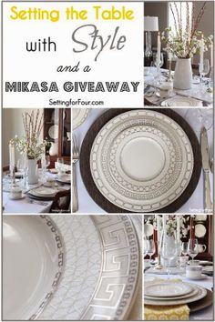 Gorgeous Tablescape with Mikasa Dinnerware