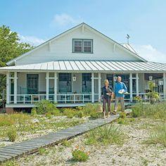 North Carolina -10 Beautiful Beach Cottages   2. Chic Beach Cottage   CoastalLiving.com