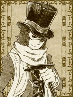 Professor Layton. Descole art. << Get out of Sherlock and back to looking for Azranish stuff Desmond.