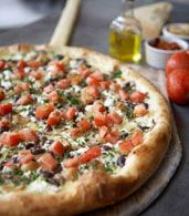 Pagliacci Pizza, the margherita is absolutely delicious!
