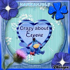 Winnie-the-Pooh - Crazy about Eeyore