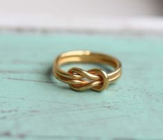 Sailor Knot Ring by diament designs