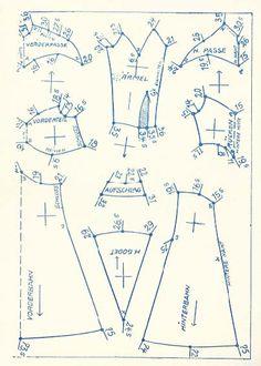 Lutterloh 1938 Book Of Cards -  Models Diagram Card 14