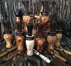 Groomsmen Gifts - Personalized! Duck Calls, deer grunt calls!