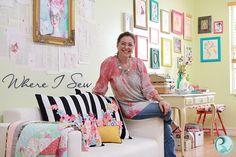 Pat Bravo Design : Where I Sew