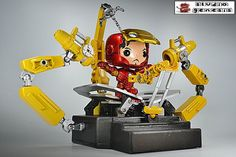 Suit up Gantry Mark 3 Iron Man Mark 3 Armor custom action figure from the Funko Pop! series using funko pop figure, acrylic plastic, lego joints as the base, created by STUDIOGENESIS. Funko Pop Dolls, Funko Pop Figures, Pop Vinyl Figures, Pop Custom, Custom Funko Pop, Funko Pop Marvel, Iron Man 3, Funko Pop Display, Hobbit