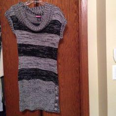 Nice warm sweater dress Great wth legging SayWhat Dresses Midi