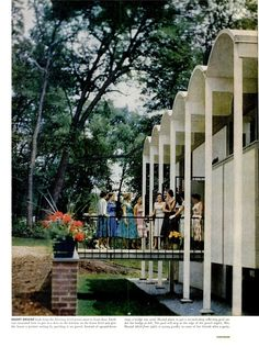 Tumblr 1958 Hustad Residence | Architect: Donald E. Hustad | Wayzata, MN | Photos: Gordon Parks - Via