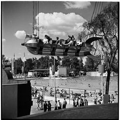 vintage rides at palisades amusement park