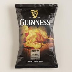 One of my favorite discoveries at WorldMarket.com: Burts Guinness Potato Chips