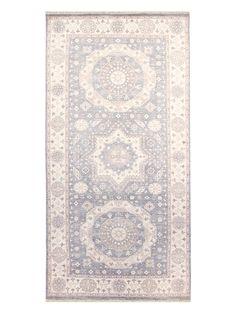FJ Kashanian Khotan Hand-Knotted Wool Rug (5'x10')