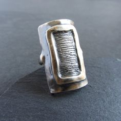 Armor Ring, Handmade Jewellery, Statement Rings, Sale Items, Wax, Silver Rings, It Cast, Sterling Silver, Gifts