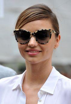 Miranda Kerr + Cat Eye Sunglasses