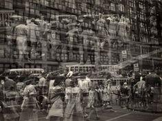 Harry Callahan.  Detroit, 1943.