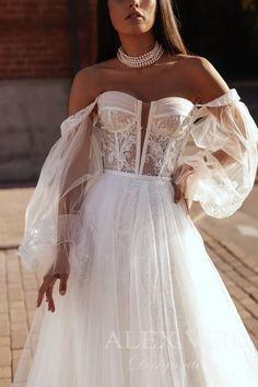 Cream Wedding Dresses, Wedding Dress Sleeves, Boho Wedding Dress, Lace Wedding, Detachable Wedding Dress, Convertible Wedding Dresses, Star Wedding, Dream Wedding, Sexy Korsett