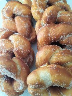 Greek Recipes, Pretzel Bites, Bread, Food, Brot, Essen, Greek Food Recipes, Baking, Meals