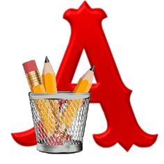 Alphabets by Monica Michielin: February 2019 Clipart Png, Monogram Alphabet, Back To School, Abcs, Nova, February, 3d, Link, Board