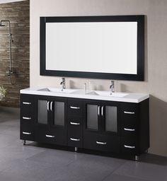 Stanton 72 Double Sink Vanity Bathroom