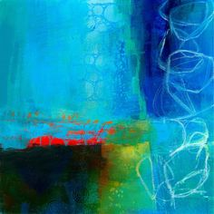 Jane Davies Paintings - Blue