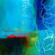Jane Davies Paintings - Blue
