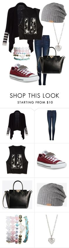 """""""Hitting the sales!!! :-)"""" by emma-oloughlin ❤ liked on Polyvore featuring BCBGMAXAZRIA, Dr. Denim, Forever 21, Converse, Valentino, Barts, Wet Seal, Finn, women's clothing and women"""