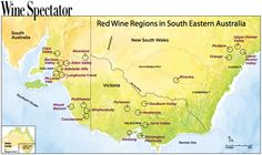 South Eastern Australia's Red Wine Regions