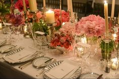 Opulent table at a Dior Dinner in NYC