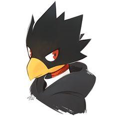 My Hero Academia, Tokoyami Boku No Hero, Mitsuki Bakugou, Baby Crows, Boku No Hero Academy, Cute Drawings, Chibi, Cool Art, Geek Stuff