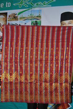 Tenun Songket Melayu Riau Pekanbaru - Punya Indonesia