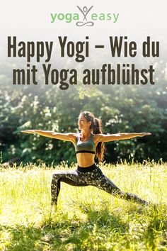 Happy Yogi – wie du mit Yoga aufblühst Do you want to get going physically, consciously living, spiritually awakening and energizing? Then Birgit Feliz Carrasco has a few yogic tips for your everyday life that make you – schwuppsdiwupps – happy yogi! Ashtanga Yoga, Vinyasa Yoga, Iyengar Yoga, Yoga Fitness, Fitness Workouts, Yin Yoga, Yoga Meditation, Yoga Routine, Yoga Inspiration