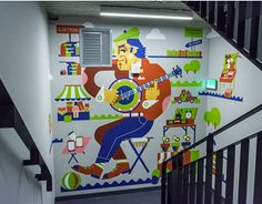 "Check out new work on my @Behance portfolio: ""Murals painted on a stairwell in Deloitte'"" http://be.net/gallery/48909435/Murals-painted-on-a-stairwell-in-Deloitte"